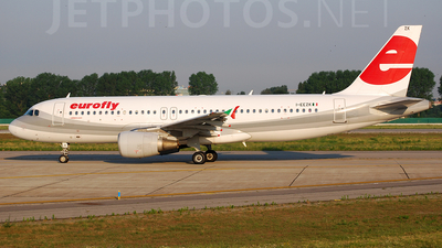 I-EEZK - Airbus A320-214 - Eurofly