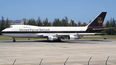 N520UP - Boeing 747-212B(SF) - United Parcel Service (UPS)