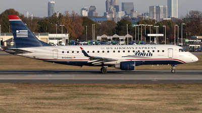 N135HQ - Embraer 170-200LR - US Airways Express (Republic Airlines)