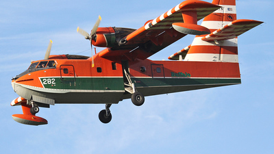 C-FAYN - Canadair CL-215 - Buffalo Airways