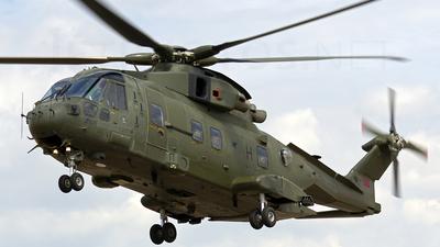 ZJ124 - Agusta-Westland Merlin HC.3 - United Kingdom - Royal Air Force (RAF)