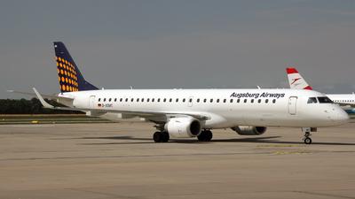 D-AEMC - Embraer 190-200LR - Augsburg Airways