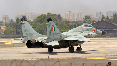 KB711 - Mikoyan-Gurevich MiG-29B Fulcrum - India - Air Force