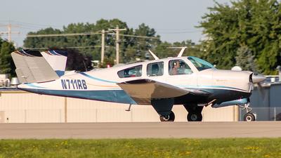 N711RB - Beechcraft V35A Bonanza - Private