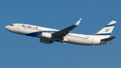 A picture of 4XEKP - Boeing 7378Q8 - El Al - © Szabó Imre