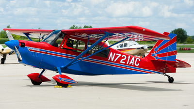 A picture of N721AC - American Champion 8KCAB - [81898] - © SpotterPowwwiii