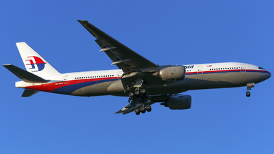 9M-MRM - Boeing 777-2H6(ER) - Malaysia Airlines