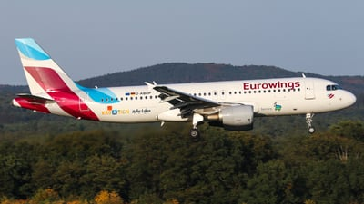 D-ABDP - Airbus A320-214 - Eurowings (Germanwings)