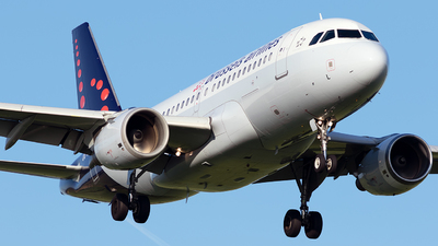 OO-SSL - Airbus A319-111 - Brussels Airlines