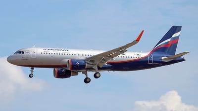F-WWIX - Airbus A320-214 - Aeroflot