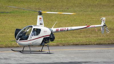 HK-4617-G - Robinson R22 Beta II - Private