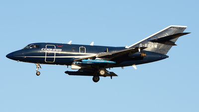 A picture of GFRAW - Dassault Falcon 20 - Cobham Aviation Services - © Elisabetta Puggioni