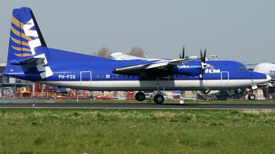 PH-FZG - Fokker 50 - VLM Airlines