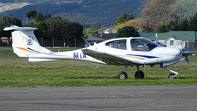 ZK-MTA - Diamond DA-40 Diamond Star XLS - Massey University School Of Aviation