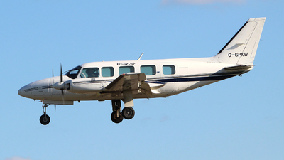 A picture of CGPXW - Piper PA31350 - Strait Air - © Guy Langlois