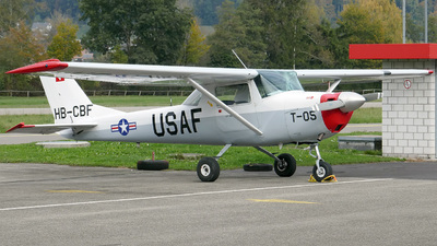 HB-CBF - Reims-Cessna F150F - Private