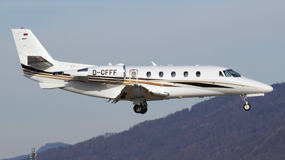 D-CFFF - Cessna 560XL Citation XLS Plus - DCA - DaimlerChrysler Aviation