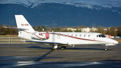 OO-KIN - Cessna 680 Citation Sovereign - Private