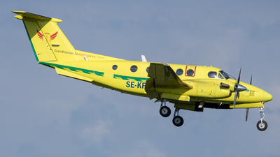 SE-KFP - Beechcraft B200C Super King Air - Scandinavian Air Ambulance