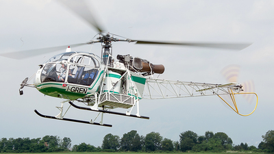 I-GREN - Aérospatiale SA 315B Lama - Air Green