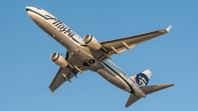 N536AS - Boeing 737-890 - Alaska Airlines