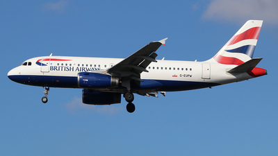 A picture of GEUPW - Airbus A319131 - British Airways - © Ferenc Kolos