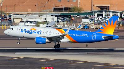N254NV - Airbus A320-214 - Allegiant Air