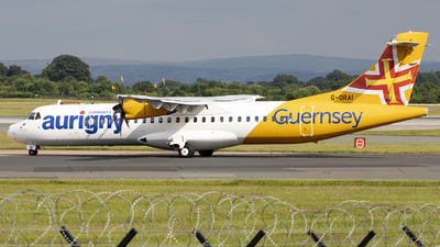 A picture of GORAI - ATR 72600 - Aurigny Air Services - © X Pan