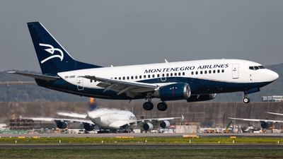 9H-OME - Boeing 737-505 - Montenegro Airlines