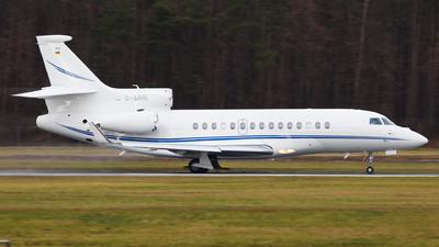 D-ARIE - Dassault Falcon 7X - Air Hamburg