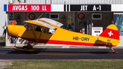HB-ORY - Piper PA-18-180M Super Cub - Private