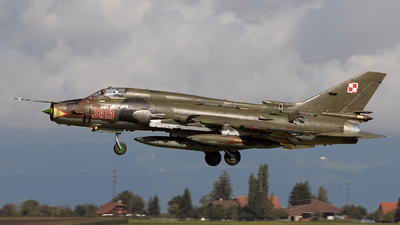 3819 - Sukhoi Su-22M4 Fitter K - Poland - Air Force