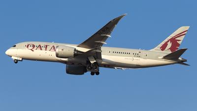 A picture of A7BCM - Boeing 7878 Dreamliner - Qatar Airways - © László Kurilla