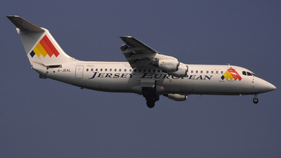 G-JEAL - British Aerospace BAe 146-300 - Jersey European Airways