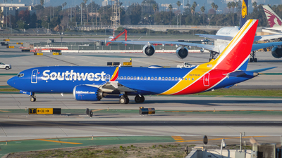 A picture of N8706W - Boeing 737 MAX 8 - Southwest Airlines - © Jehu Monterroso