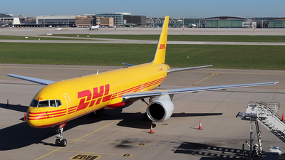 A picture of DALER - Boeing 7572Q8(PCF) - DHL - © Johannes Reichert