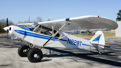 N228T - Piper PA-18-105 Super Cub - Private