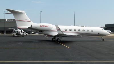 N795BA - Gulfstream G550 - Private