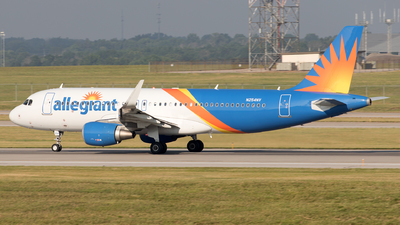 A picture of N254NV - Airbus A320214 - Allegiant Air - © Yixin Chen