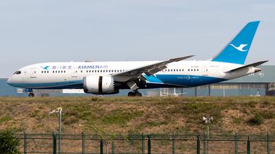 A picture of B2768 - Boeing 7878 Dreamliner - Xiamen Air - © Claudia_Aidualc