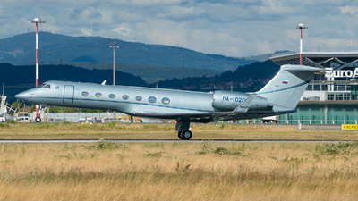 RA-10208 - Gulfstream G550 - Private