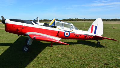 G-BXIM - De Havilland Canada DHC-1 Chipmunk - Private