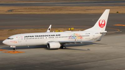 A picture of JA03RK - Boeing 7378Q3 - Japan Transocean Air - © Kinmei