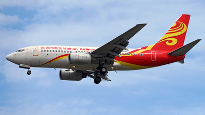 A picture of B5062 - Boeing 73776N - Hainan Airlines - © PanXiao