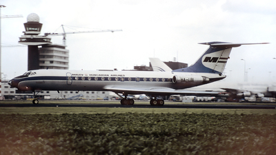HA-LBI - Tupolev Tu-134A-3 - Malév Hungarian Airlines