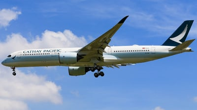 B-LRB - Airbus A350-941 - Cathay Pacific Airways