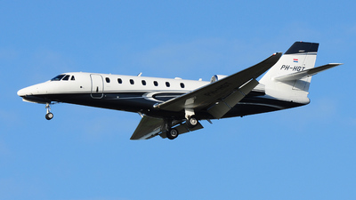 PH-HGT - Cessna 680 Citation Sovereign Plus - Air Service Liège (ASL)