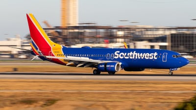A picture of N8311Q - Boeing 7378H4 - Southwest Airlines - © Brandon Ravelo