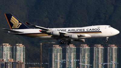 9V-SFK - Boeing 747-412F(SCD) - Singapore Airlines Cargo