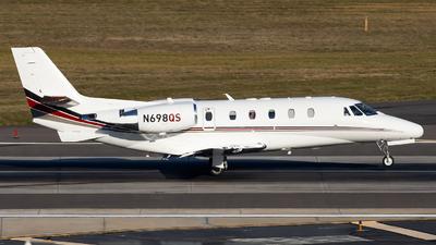 A picture of N698QS - Cessna 560XLS Citation Excel - NetJets - © Maik Voigt